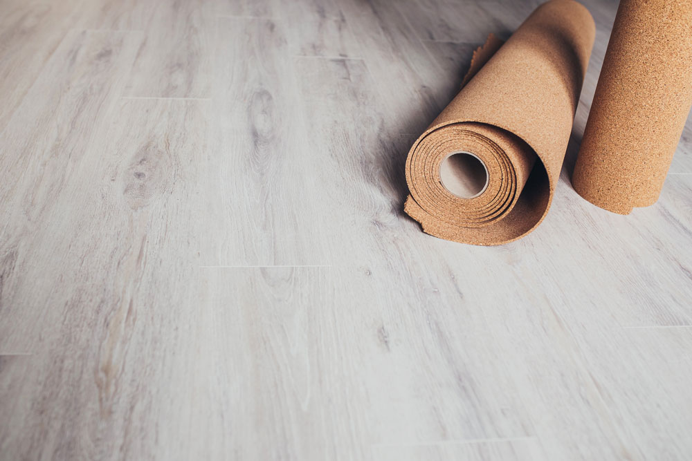 underlayment might be an option for vinyl flooring for your floor