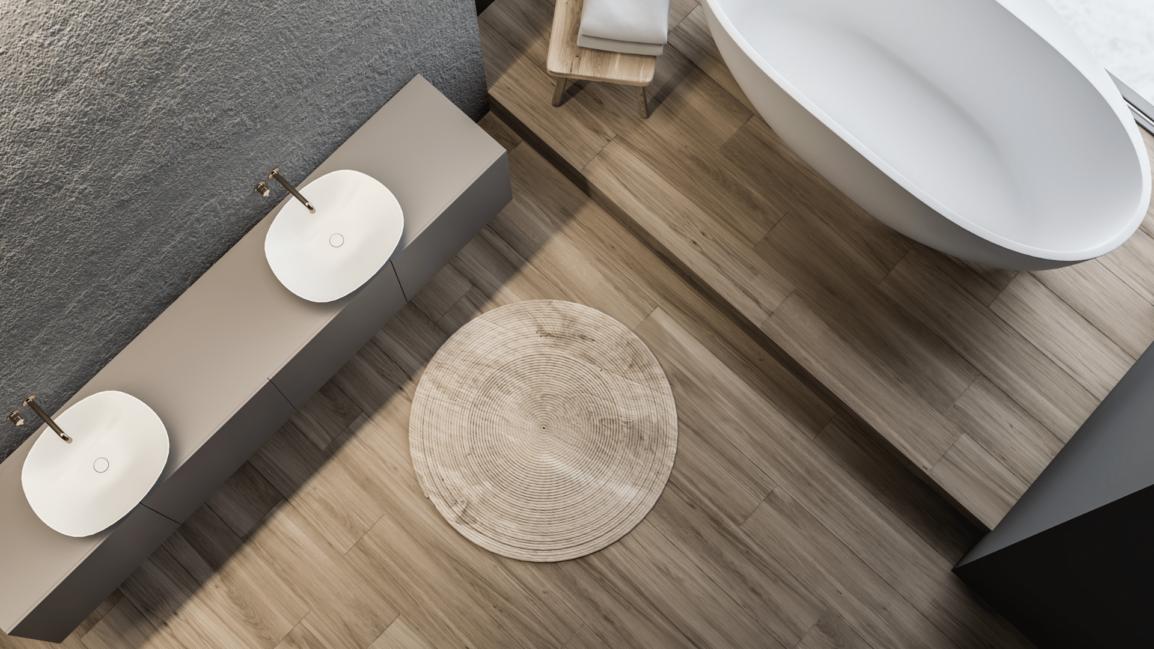 image of bathroom floors