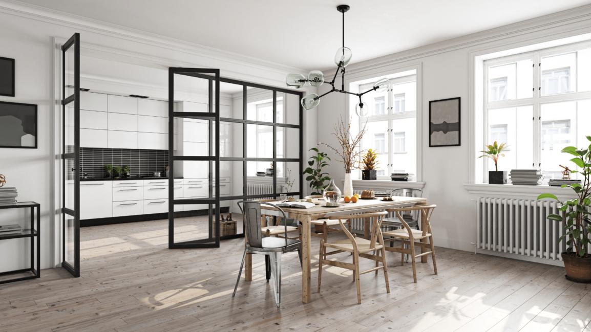 image of minimalist living space